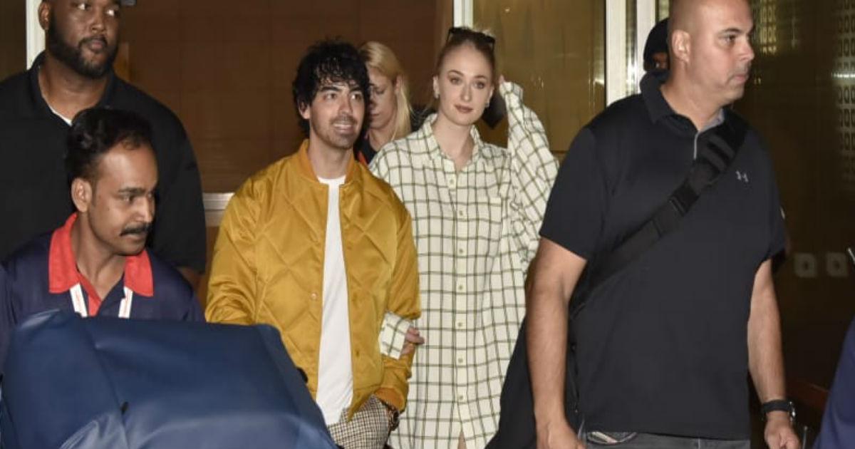 Priyanka Chopra Nick Jonas Wedding: अपनी गर्लफ्रेंड सोफी टर्नर संग भारत पहुंचे निक जोनस के भाई