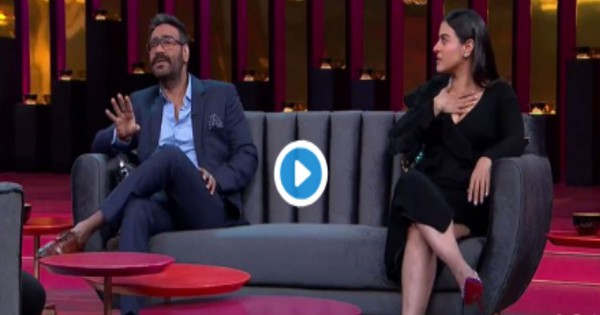 Kofee With Karan 6: काजोल ने अजय देवगन से की जमकर लड़ाई, बताई शाहरुख खान की 'गंदी बात'