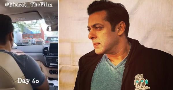 पिछले 4 दिनों से दिल्ली में हो रही सलमान खान की फिल्म 'भारत' की शूटिंग, जीजा ने शेयर किए फोटो-वीडियो