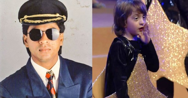 शाहरुख खान के बेटे अबराम खान ने बाजीगर की दिलाई याद, PHOTO देख हो जाएंगे फिदा