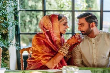 दीपिका पादुकोण-रणवीर सिंह ने यूं निभाई कोंकणी रस्म, तस्वीरों में देखें कैसे एक-दूजे के हुए 'दीपवीर'