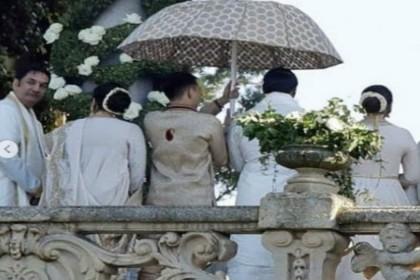 दीपिका पादुकोण और रणवीर सिंह की शादी के बाद दिखी पहली झलक, देखिए तस्वीरें