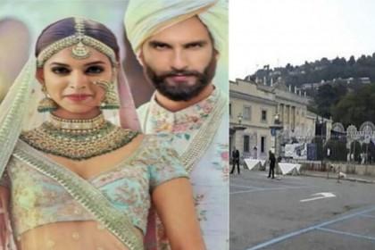 WoW! 'दीपवीर' की शादी की ऐसी हो रही सजावट, सामने आई दिल चुराने वाली तस्वीरें
