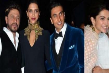 दीपिका पादुकोण-रणवीर सिंह की शादी में चार चांद लगाने इटली पहुंचे संजय लीला भंसाली-शाहरुख खान