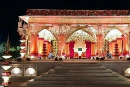 उम्मेद भवन में इस तरह सजाया गया है प्रियंका चोपड़ा की शादी का मंडप, देखिए तस्वीरें