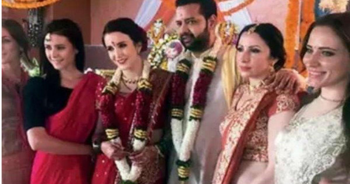 विदेशी मॉडल पर इस कदर फिदा हुए बिग बॉस फेम राहुल महाजन, तीसरी बार रचाई शादी