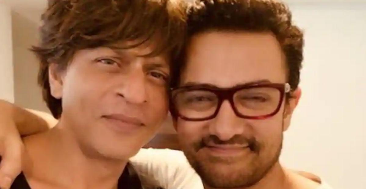 शाहरुख खान ने शेयर की आमिर खान के साथ फोटो, कुछ इस अंदाज में की उनकी फिल्म की तारीफ