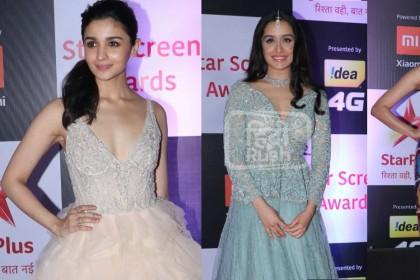Star Screen Awards की शाम को रंगीन बनाने पहुंचे फिल्मी सितारे, तस्वीरों में देखें उनका ग्लैमरस LOOK