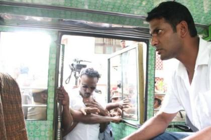 Actor filmmaker Vishal arrested in Chennai