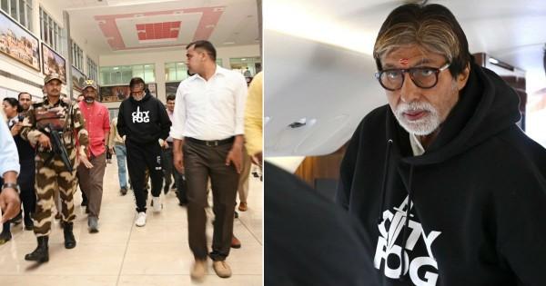 अमिताभ बच्चन ने नागपुर में शुरू की नागराज की फिल्म 'झुंड' की शूटिंग, ट्वीट कर कही ये बात
