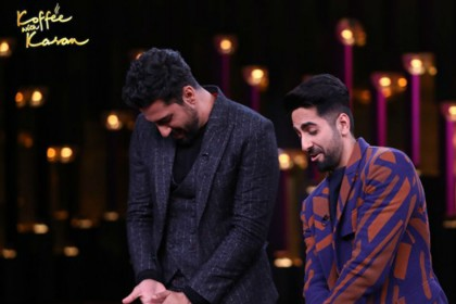 Ayushmann Khurrana in Koffee With Karan