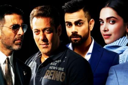 Forbes India 2018: कमाई में सलमान खान नंबर 1, टॉप 10 में दीपिका पादुकोण-रणवीर सिंह ने मारी धांसू एंट्री