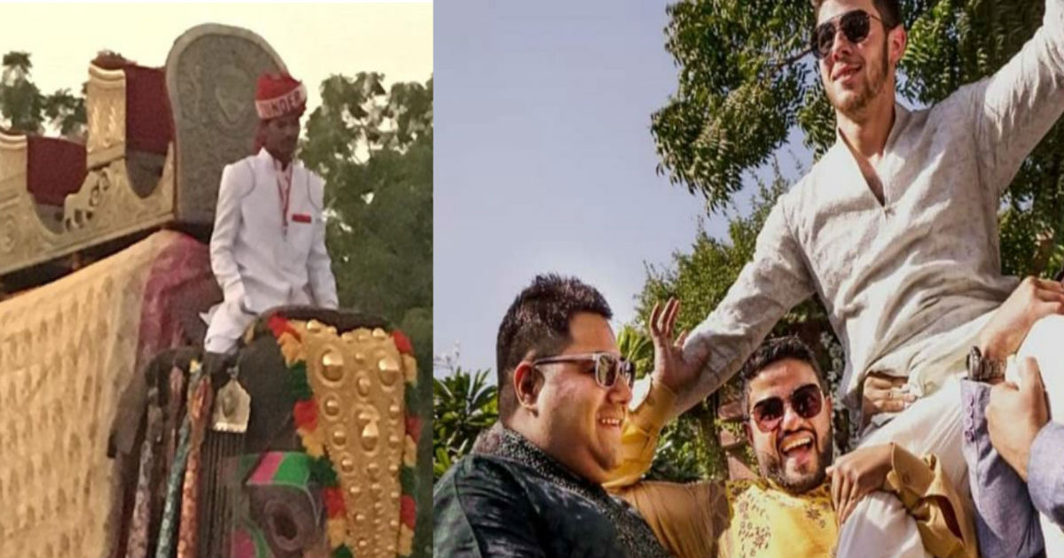 Priyanka Chopra Nick Jonas Wedding: बारात के लिए ऐसे सजाए गए घोड़ा-हाथी, विमान से उतरने वाले हैं निक