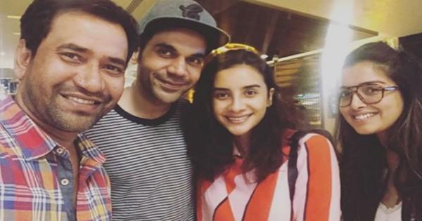 थियेटर में एक साथ टकराए राजकुमार राव और निरहुआ, पत्रलेखा-आम्रपाली दुबे संग देखी फिल्म 2.0