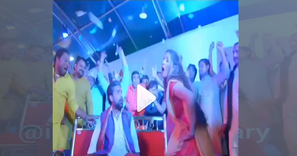 पहली ही भोजपुरी फिल्म में छा गईं सपना चौधरी, VIDEO में देखिए हरियाणवी छोरी का मदमस्त डांस