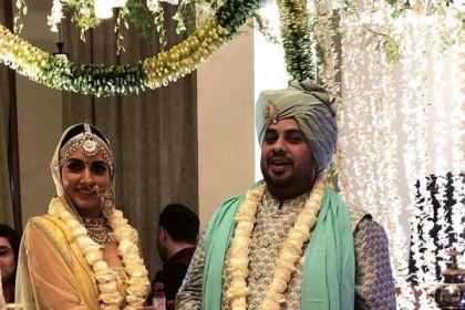 टीवी एक्ट्रेस अदिति गुप्ता ने बिज़नेसमैन कबीर से रचाई शादी, शादी का लहंगा है सबसे अलग