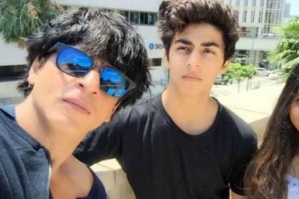 Will Aryan Khan be launched by Karan Johar Shah Rukh Khan answered