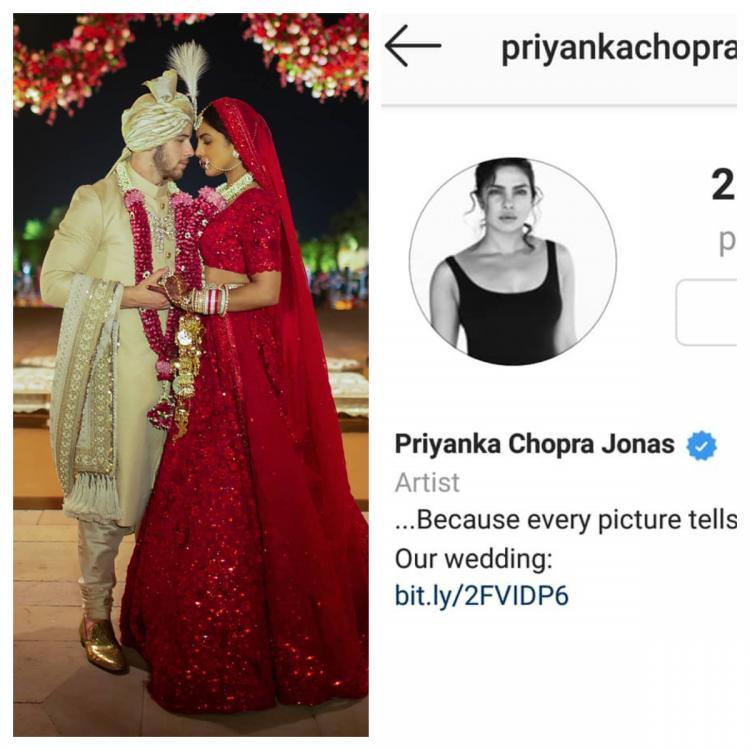 'देसी गर्ल' प्रियंका चोपड़ा अब पूरी तरह हो गईं 'विदेशी गर्ल', शादी के बाद बदला टाइटल