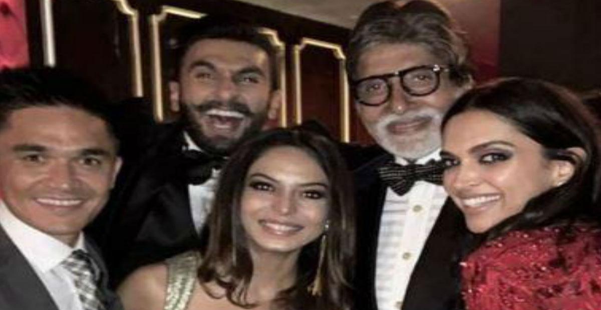 Video: दीपवीर की पार्टी में 'जुम्मा चुम्मा' पर कुछ यूं थिरकते दिखे अमिताभ बच्चन