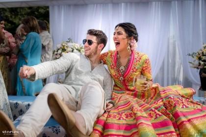 Priyanka Chopra Nick Jonas Wedding: अपनी शादी के जश्न में यूं झूमें 'निकयांका', देखिए सबसे प्यारी तस्वीरें
