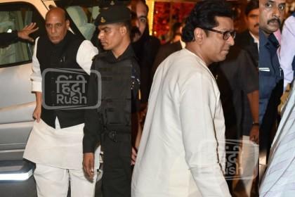 PHOTOS: राजनाथ सिंह से लेकर राज ठाकरे तक, ईशा अंबानी की शादी में पहुंचे ये VVIP राजनेता