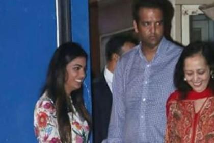 शादी के बाद पहली बार ससुराल वालों के साथ नजर आईं ईशा अंबानी, कुछ इस तरह दिखा उनका अंदाज