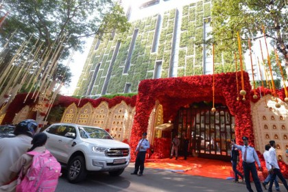 यहां हो रही है ईशा अंबानी और आनंद पीरामल की शादी, देखिए 'शाही महल' की शानदार तस्वीरें