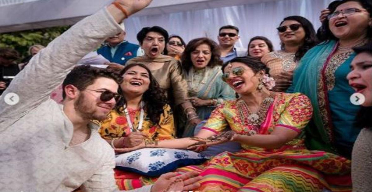 प्रियंका चोपड़ा के मेहंदी की 'स्पेशल' फोटो आई सामने, पहली बार इन बातों का हुआ खुलासा!