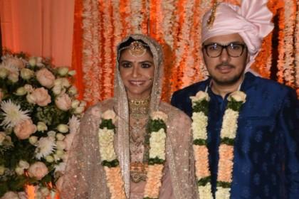 फिल्म स्त्री के प्रोड्यूसर दिनेश विजयन ने की शादी, रवीना टंडन समेत कई बॉलीवुड हस्तियों ने की शिरकत