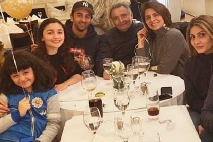Alia Bhatt celebrates New Year eve with Ranbir Kapoor family