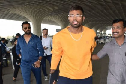 Hardik Pandya spotted with brother Krunal Pandya for the first time post Koffee With Karan