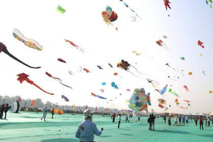 International Kite Festival , Uttarayan, Makar Sankranti,