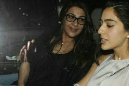 Amrita singh Sara Ali khan