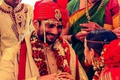 Prateik Babbar Sanya Sagar Wedding photos