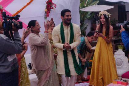 Prateik Babbar sanya Sagar Marriage