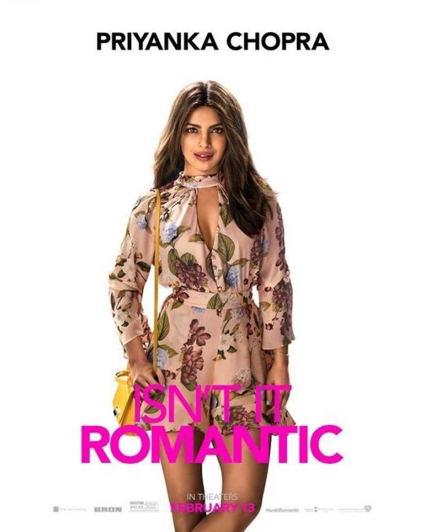 फिल्म 'इज नॉट इट रोमांटिक' में प्रियंका चोपड़ा का लुक आया सामने, हॉट अवतार में आईं नजर