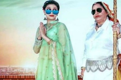 Sapna choudhary shooting with her mother video viral