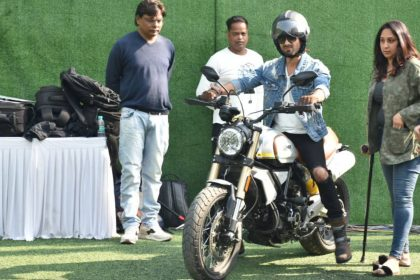 Shahid Kapoor Bike Ride Information