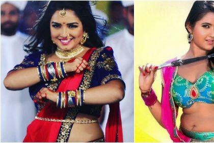 आम्रपाली दुबे ने पहनी साड़ी तो फैंस ने दिए रिएक्शन, काजल राघवानी का हॉट वीडियो डांस वायरल