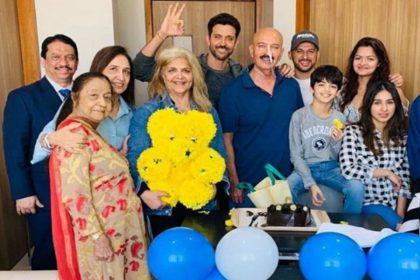 सर्जरी के बाद सामने आईं राकेश रोशन की तस्वीरें, कुछ इस तरह से ऋतिक रोशन ने पापा संग मनाया अपना जन्मदिन
