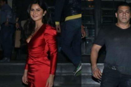 अली अब्बास जफर की बर्थडे पार्टी में पहुंची फिल्म भारत की स्टारकास्ट, यूं नजर आए सलमान खान-कैटरीना कैफ