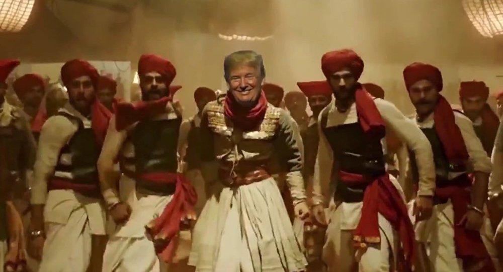 अमेरिका के राष्ट्रपति डोनाल्ड ट्रंप का 'मल्हारी' डांस वीडियो सोशल मीडिया पर वायरल, रणवीर सिंह को मात