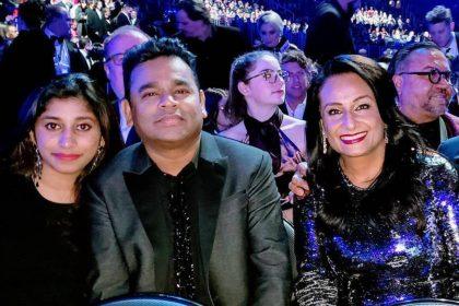 AR Rahman With Daughter Raheema Rahman