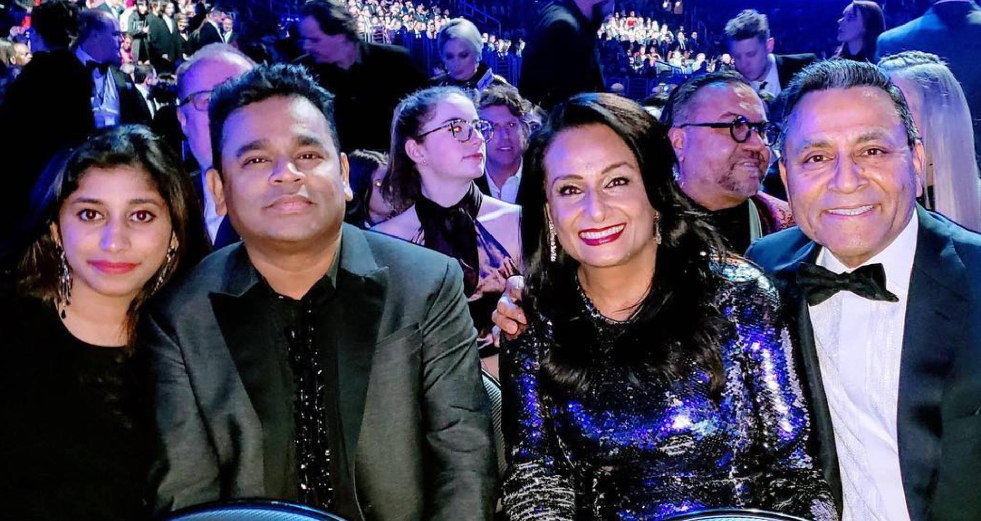 ग्रैमी अवार्ड सेरेमनी में पहुंचे एआर रहमान, बेटी रहीमा के साथ लिया लेडी गागा के सॉन्ग का मजा