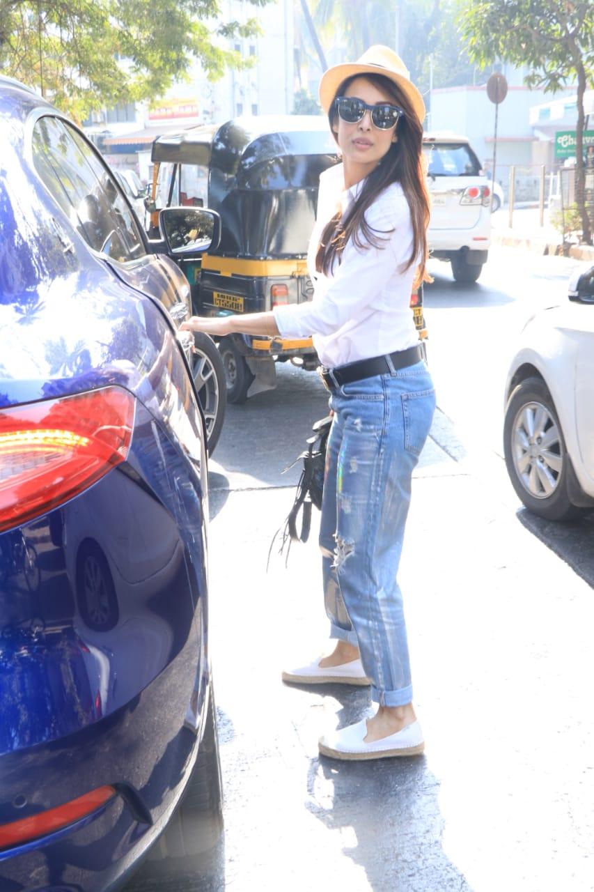 Malaika Arora Arjun Kapoor Lunch 3