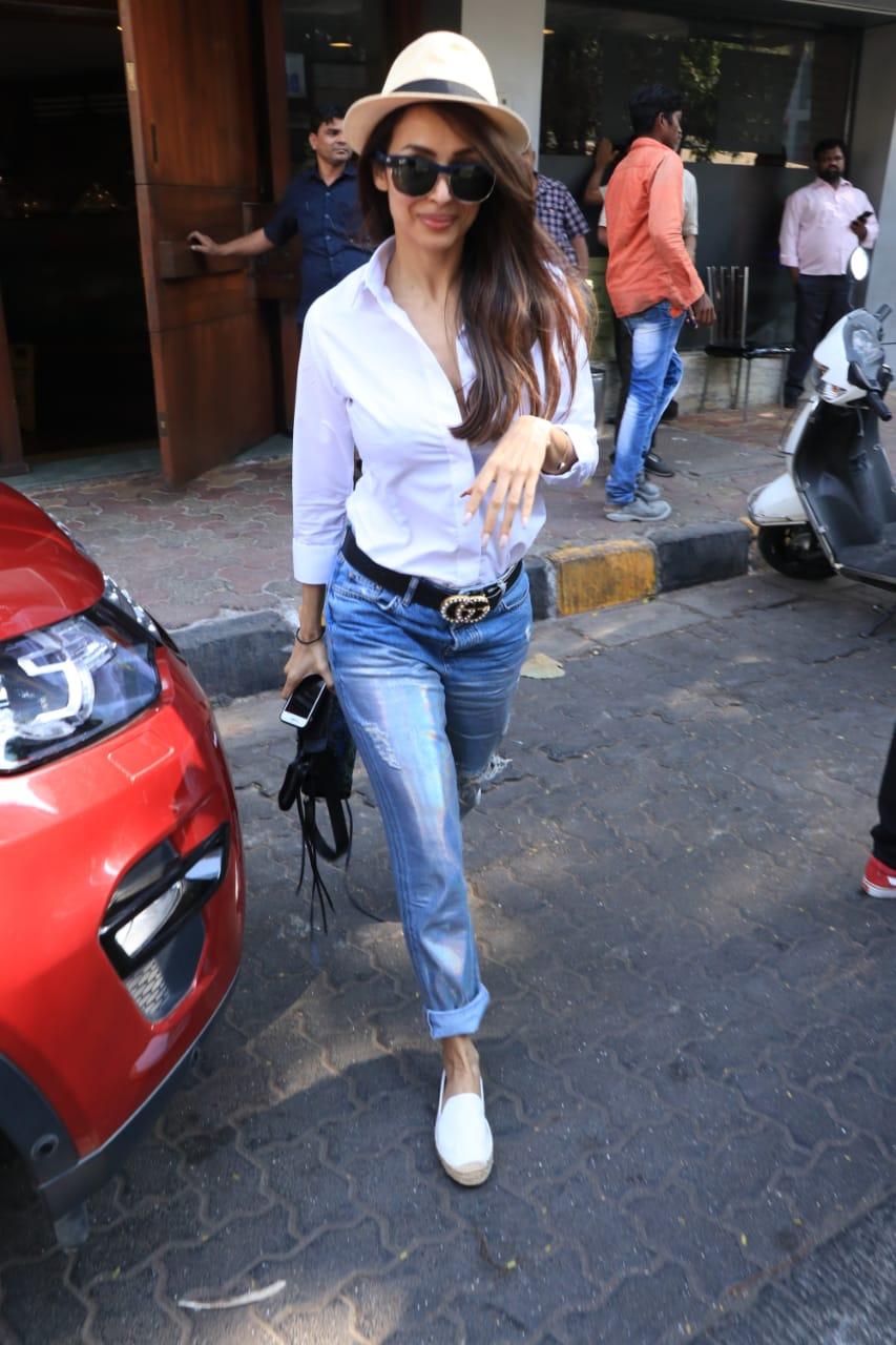 Malaika Arora Arjun Kapoor Lunch 4