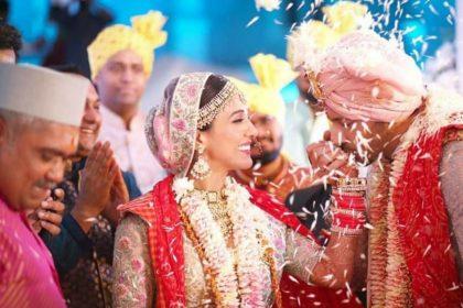 एक दूजे के हुए बॉलीवुड सिंगर नीति मोहन और एक्टर निहार पांड्या, 1 हफ्ते बाद आई शादी की इनसाइड तस्वीरें