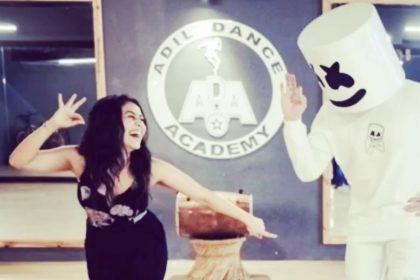 Neha Kakkar Marshmello Dance Video