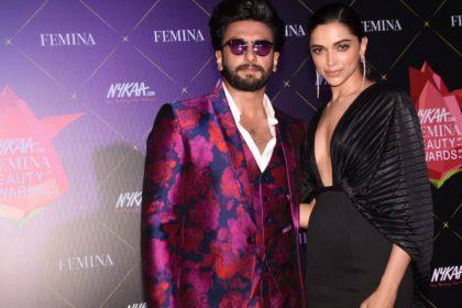 Nykaa Femina Beauty Awards Deepika Padukone Ranveer Singh