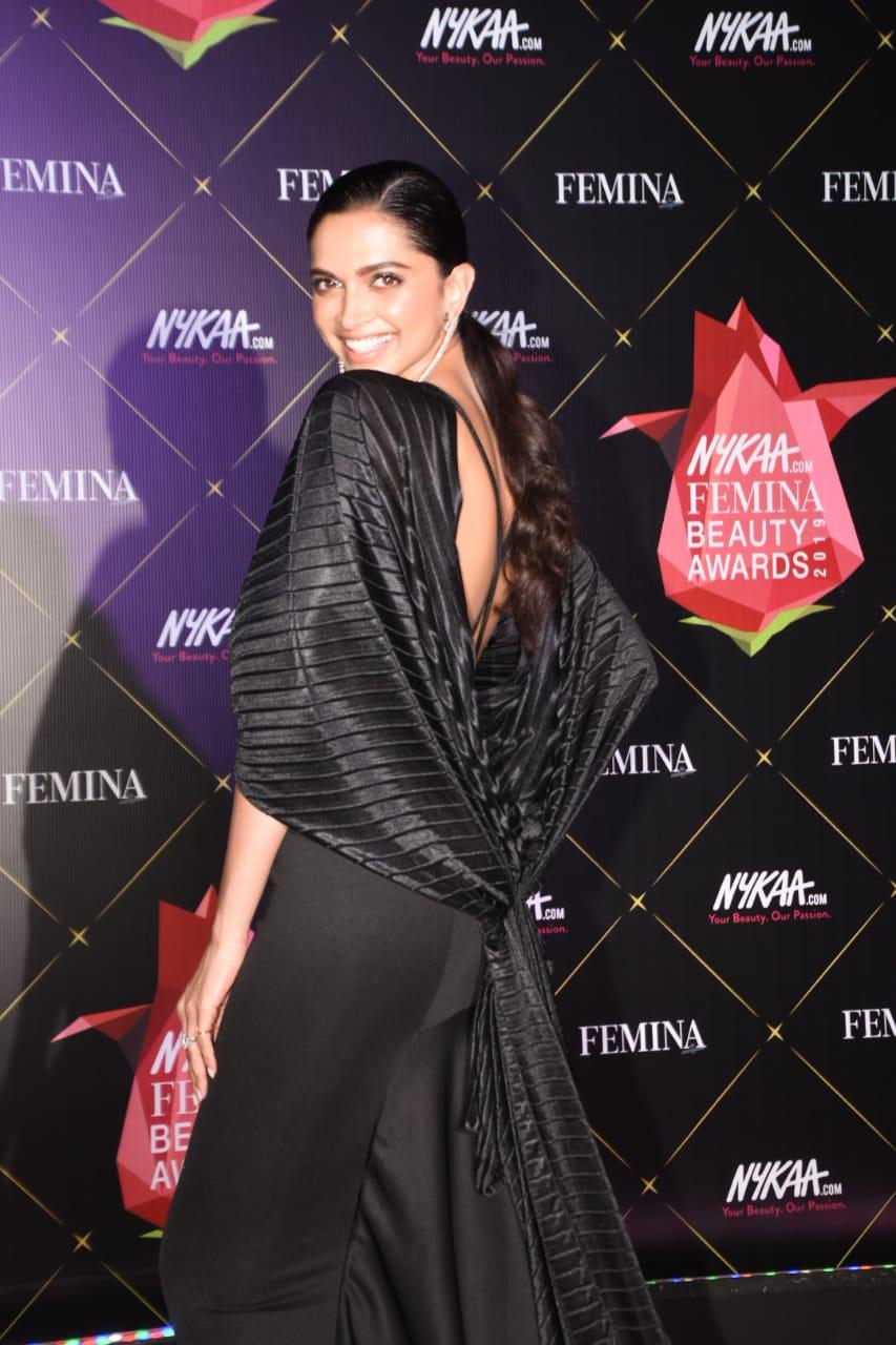 Nykaa Femina Beauty Awards Deepika Paduokone 1